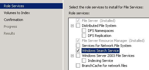 Is it safe to delete Ci Files folder on Server 2008 R2 - WinCert